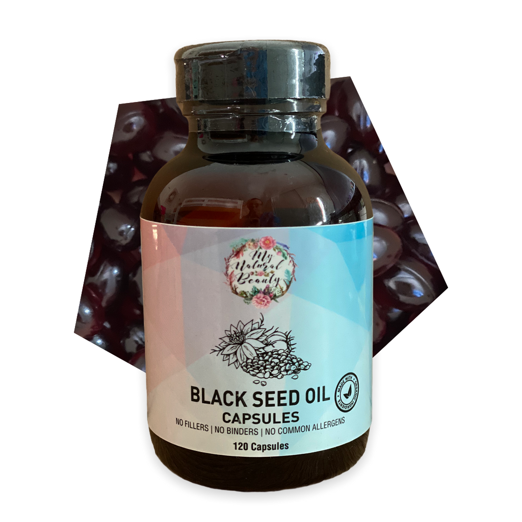 Black seed oil is extracted from the seeds of Nigella Sativa, a plant that grows in Eastern Europe, the Middle East, and western Asia. The shrub produces fruits that have tiny black seeds. These black seeds have been used in remedies for thousands of years.  Also known as Black Cumin Seed oil, Blessed Seed, Kalonji oil and Nigella Sativa oil. This an amber-hued oil is said to offer a range of health and beauty benefits and has been used as a medicinal herb with a wide range of healing capabilities for almo