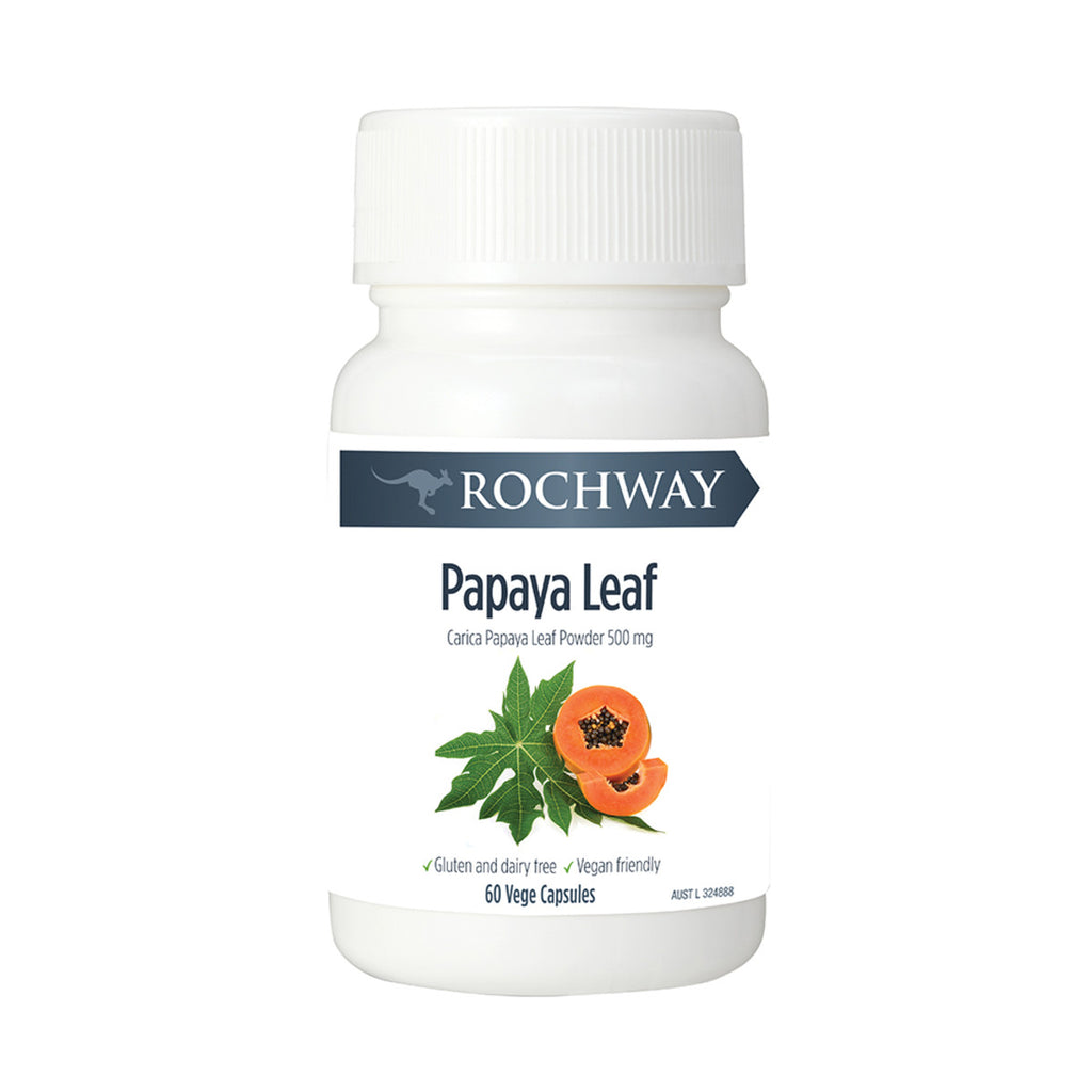 Papaya Leaf Powder Capsules