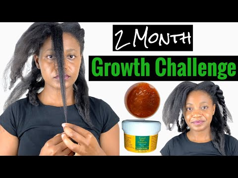 2 Month Hair Growth Challenge ft T444Z Hair Food. Pamarow Naturals