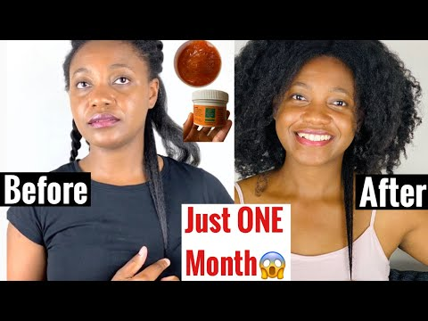 T444z for Hair Growth, Dandruff. Find out how the 2 month Hair Growth Challenge is going with Pamarow Naturals.