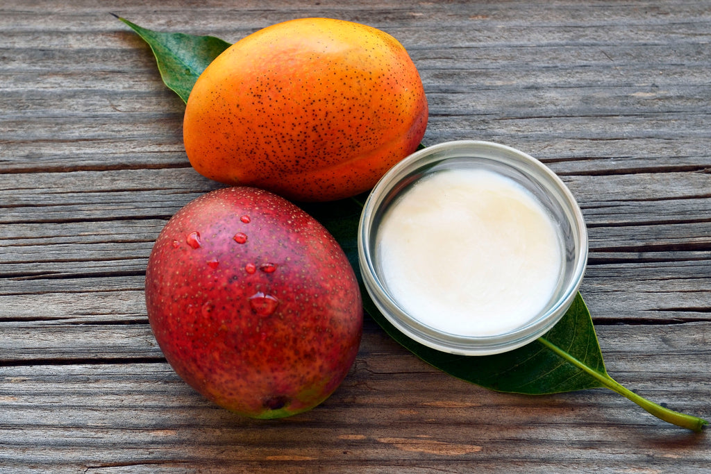 Raw unrefined Mango Butter buy online Australia