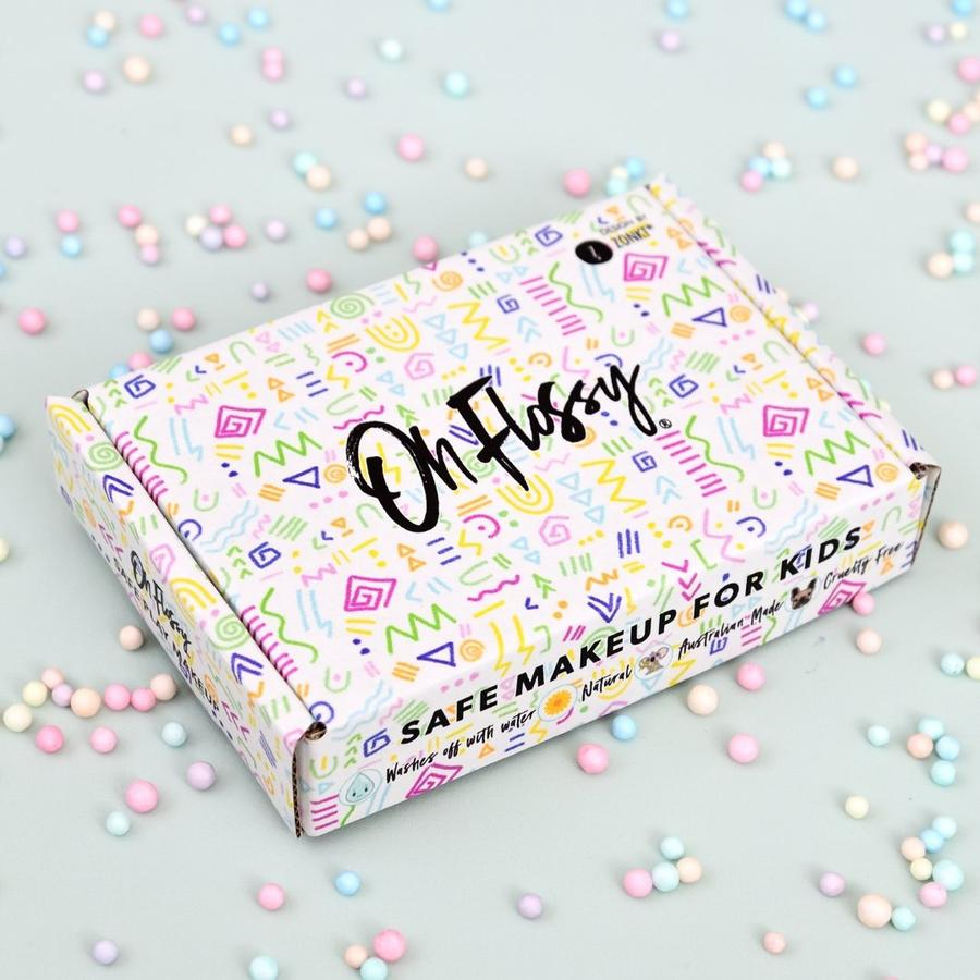 Oh Flossy children's makeup. Natural and no nasties. Buy online. Christmas gift. Free delivery over $60.