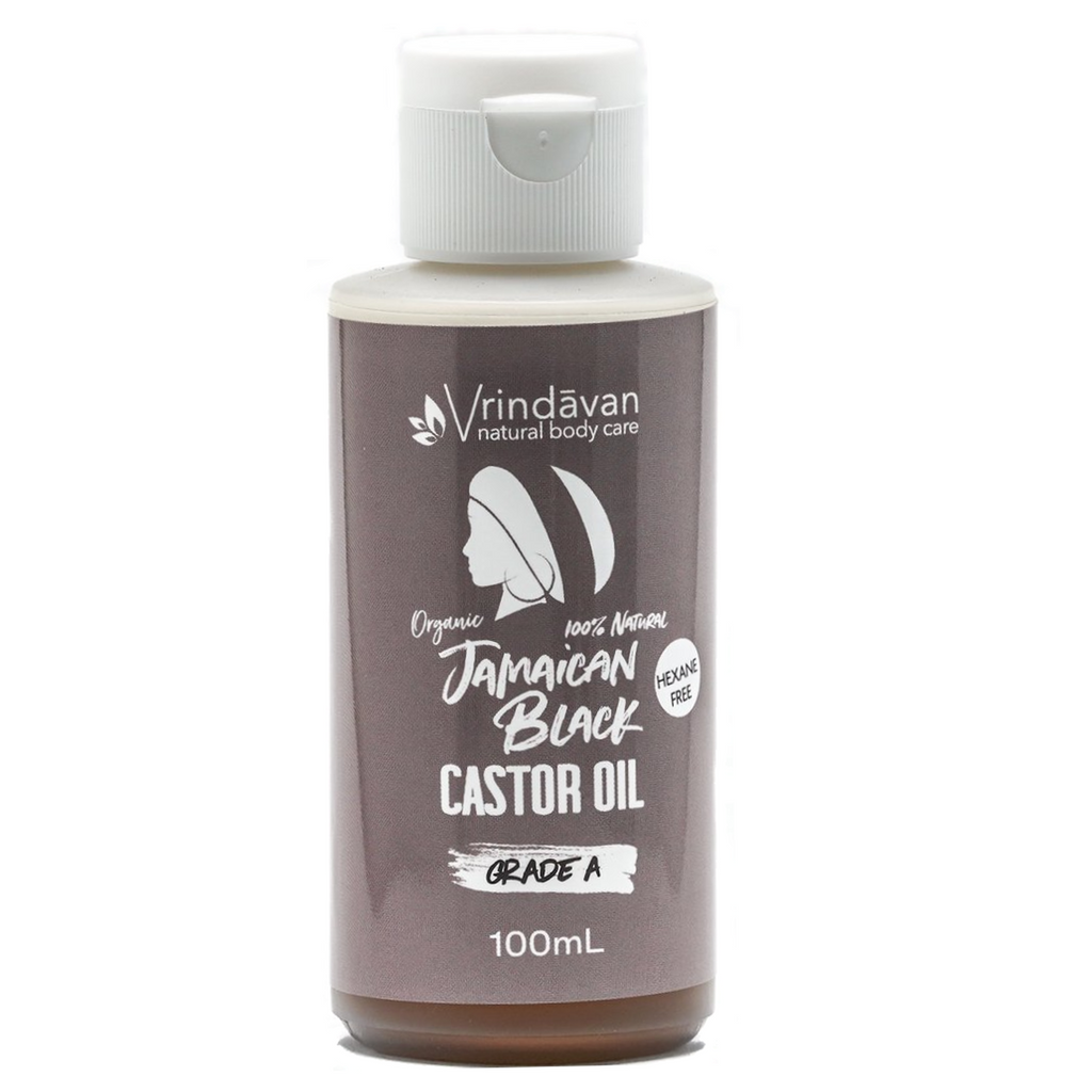 VRINDAVAN Jamaican Black Castor Oil Grade A - Refined - 100ml