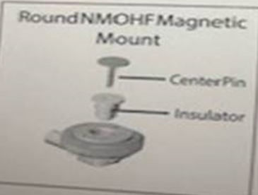 Round NMOHF Magnetic Mount
