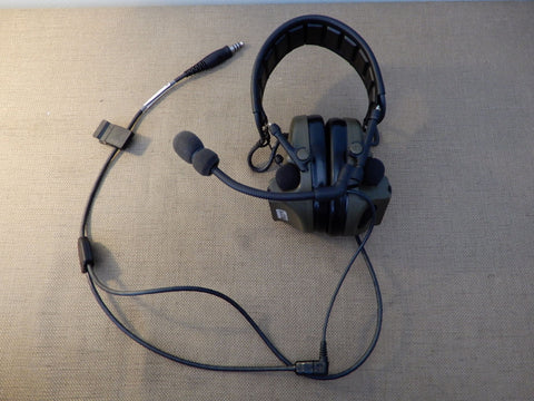 Converting Comtac V Hearing Defender to Comms