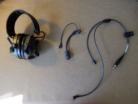 How to Convert Comtac V Hearing Defender to Communication Headset