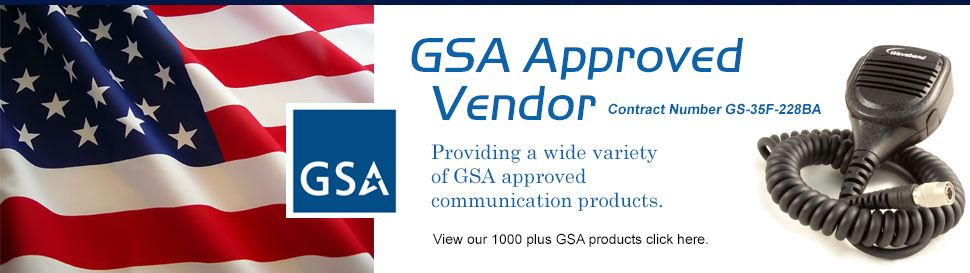 Waveband Communications is a GSA Approved Vendor Providing a Wide Variety of Communication Products