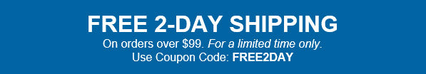 Free Shipping Promo with Code FREE2DAY