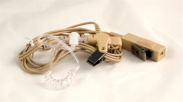 Motorola ZMN6032, ZMN6032A beige 2-wire surveillance kit for discreet communications WB#WV1-15023X-Beige