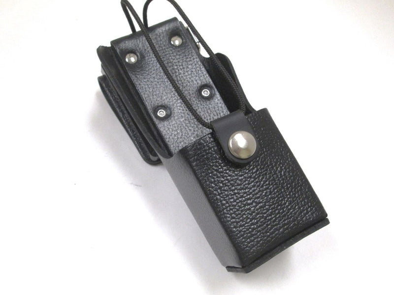 NTN8381C  High-activity Leather Carrying Case For Motorola XTS 3000/5000 series radio with swivel beltloop WB