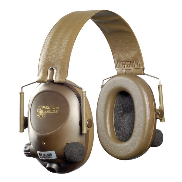 3M MT15H67FB Peltor SoundTrap Slimline Earmuff, Tactical Electronic Headset, Headband