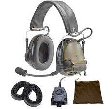 3M PELTOR COMTAC III 88062-00000 GREEN TWO-WAY RADIO HEADSET - BATTERY POWERED - 078371-88062 - First Source Wireless