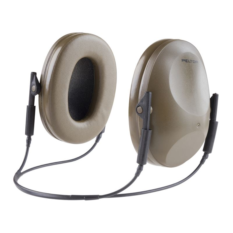 3M Peltor Artillery Earmuff 88076-00000,(H6B GN), Tactical Hearing Protection - First Source Wireless