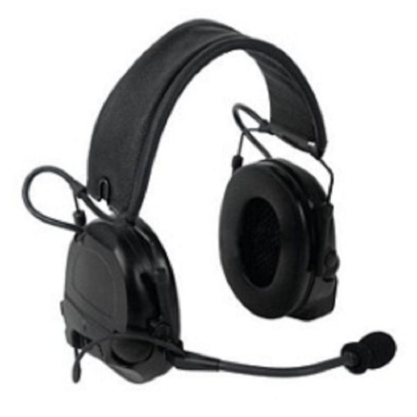 3M PELTOR ComTac ACH Communication Headset MT17H682FB-49 CY, Dual Comm, Single Downlead, Flexi Boom Mic, Coyote Brown 1 EA/Case