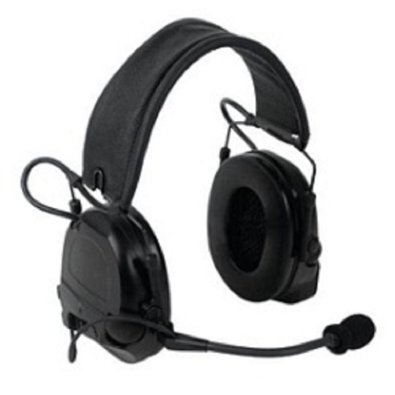 3M PELTOR ComTac ACH Communication Headset MT17H682FB-49 CY, Dual Comm, Single Downlead, Flexi Boom Mic, Coyote Brown 1 EA/Case - First Source Wireless