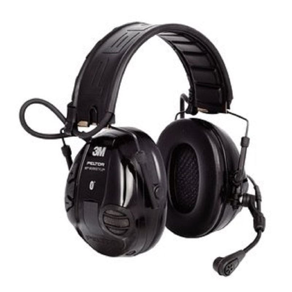 3M MT16H21FWS5UM580 Peltor WS 100 Communications Bluetooth Dual Muff Headset - First Source Wireless
