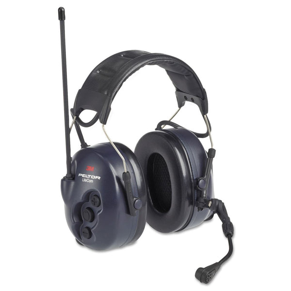 3M Peltor LiteCom BRS Two Way Radio Headset, MT53H7A4600-NA, Headband, 1 EA/Case