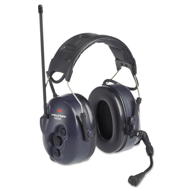 3M Peltor LiteCom BRS Two Way Radio Headset, MT53H7A4600-NA, Headband, 1 EA/Case - First Source Wireless