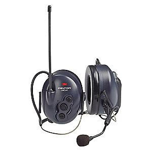 3M Peltor LiteCom Plus Two Way Radio Headset, MT7H7B4610-NA, Neckband 1 EA/Case - First Source Wireless