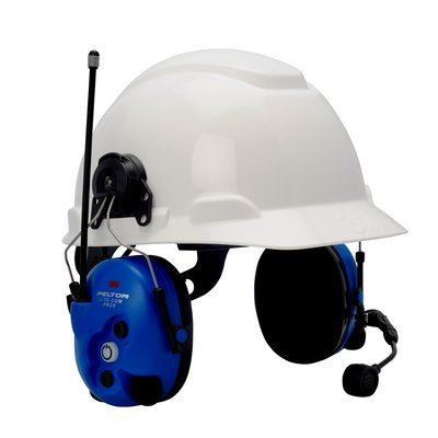 3M MT7H7P3E4010-NA-50 Peltor LiteCom Pro II 2-Way Headset, Hard Hat - First Source Wireless