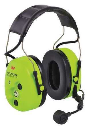 3M Peltor WS ProTac XP Ground Mechanic MT15H7AWS5-01 GB, Headband, Hi-Viz, 1/CS - First Source Wireless