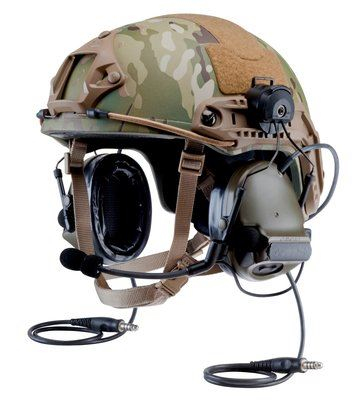 3M(TM) PELTOR(TM) ComTac(TM) III Advanced Combat Helmet (ACH) MT17H682P3AD-19 GN 1 EA/Case