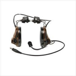 "3M(TM) Peltor(TM) ComTac ACH ARC Communication Headset MT17H682P3AD-49 GN, Dual Comm, 20"" Straight Single Downlead, Foliage Green, 1 ea/cs - First Source Wireless"