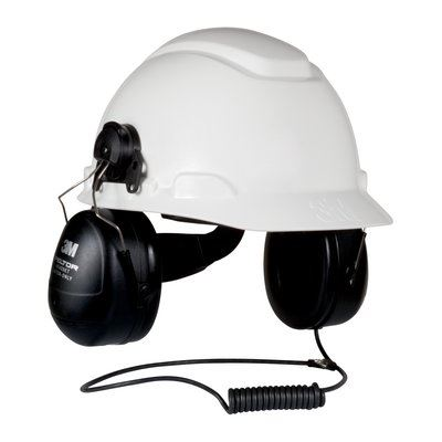 3M HTM79P3E-49 Peltor HT Series Listen-Only Headset Hard Hat - First Source Wireless