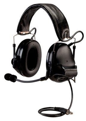 3M Peltor ComTac V ACH Tactical Communications Headset Kit includes APX/XPR MOTOTRBO Radio Adapter, Carrying Bag