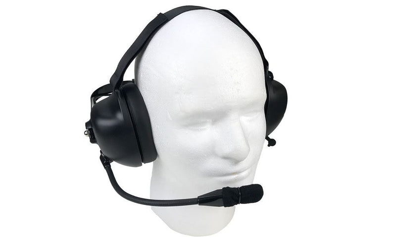 Noise Cancelling Headset for Harris M/A-Com Radios - First Source Wireless