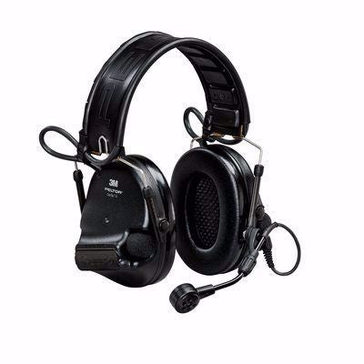 Black 3M Swat-Tac VI NIB Hearing Defender Headset (In stock) - First Source Wireless