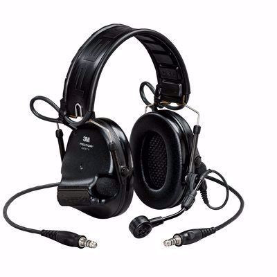 Black 3M PELTOR Swat-Tac VI NIB Dual Comm Headset - First Source Wireless
