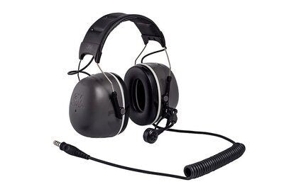 3M PELTOR  CH-5 High Attenuation Headset - MT73H450A-86 - NATO Wired - Headband - 31dB NRR - First Source Wireless