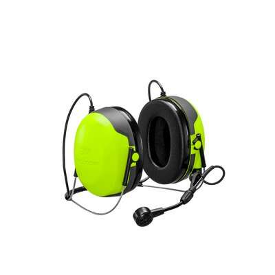3M PELTOR CH-3 Headset with PTT Neckband MT74H52B-111 - First Source Wireless