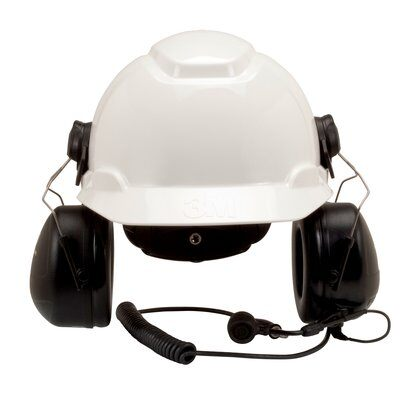 3M PELTOR MT Series 2-Way Communications Headset, Hard Hat Attached MT7H79P3E-C0054 1 EA/Case - First Source Wireless
