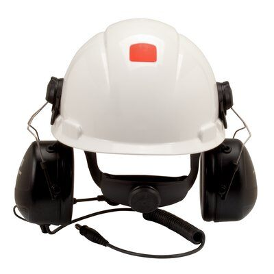 3M PELTOR MT Series 2-Way Communications Headset, Hard Hat Attached MT7H79P3E-C0054 1 EA/Case