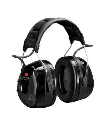 3M PELTOR ProTac III Headset, Black, Headband case of 10 - First Source Wireless