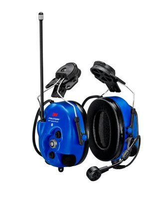3M PELTOR WS LiteCom PRO III Headset - Hard Hat Attached - Intrinsically Safe - MT73H7P3E4D10NA-50 - First Source Wireless