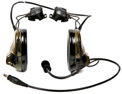3M Comtac 3 Headset with helmet attachment