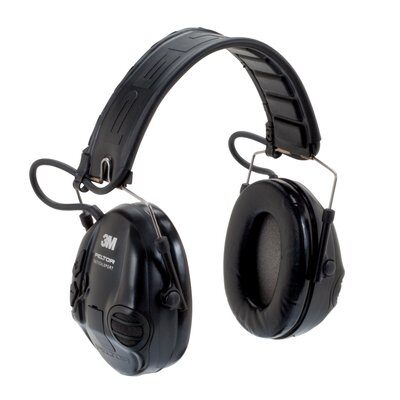 3M PELTOR Tactical Sport Communications Headset, Headband MT16H210F-SV 1 EA/Case - First Source Wireless