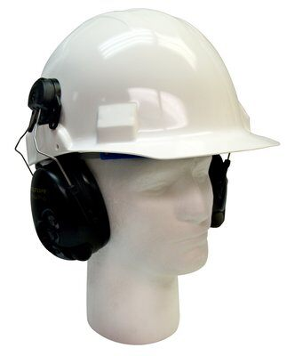 3M PELTOR Tactical Pro Communications Headset MT15H7P3E SV, Hard Hat Attach, 1 ea/cs - First Source Wireless