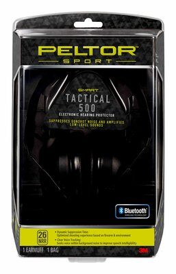 Peltor Sport Tactical 500 Electronic Hearing Protector, TAC500-OTH, 1 Hearing Protector, 4/Case - First Source Wireless