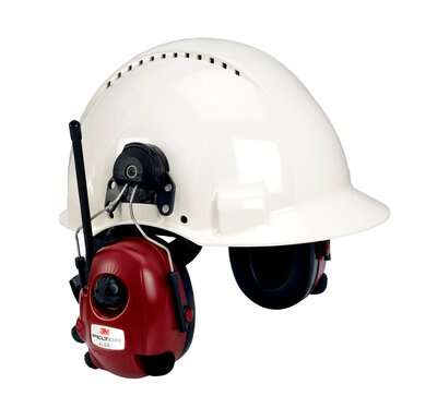 3M Peltor Alert FM Radio Headset Hard Hat Attached M2RX7P3E2-01 - First Source Wireless