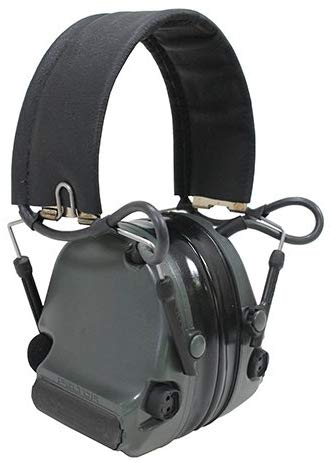 Peltor ComTac III Hearing Defender Electronic Earmuffs (NRR 20) - First Source Wireless