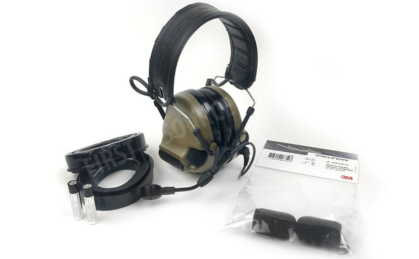 Coyote Brown 3M ComTac VI NIB Hearing Defender Headset - First Source Wireless