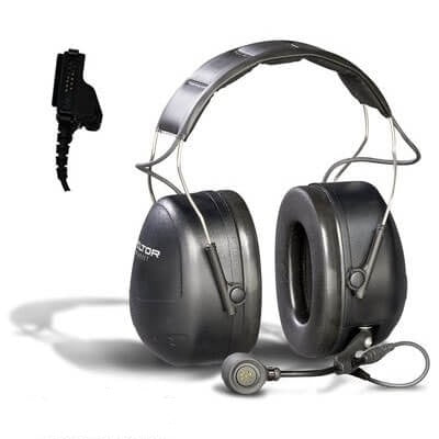 3M PELTOR MT Series 2-Way Communications Headset MT7H79A-C0060, Headband, 1 ea/cs - First Source Wireless