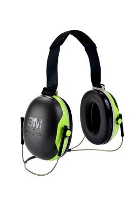 3M PELTOR X4 Earmuffs X4B, Behind-the-Head, 10 EA/Case - First Source Wireless
