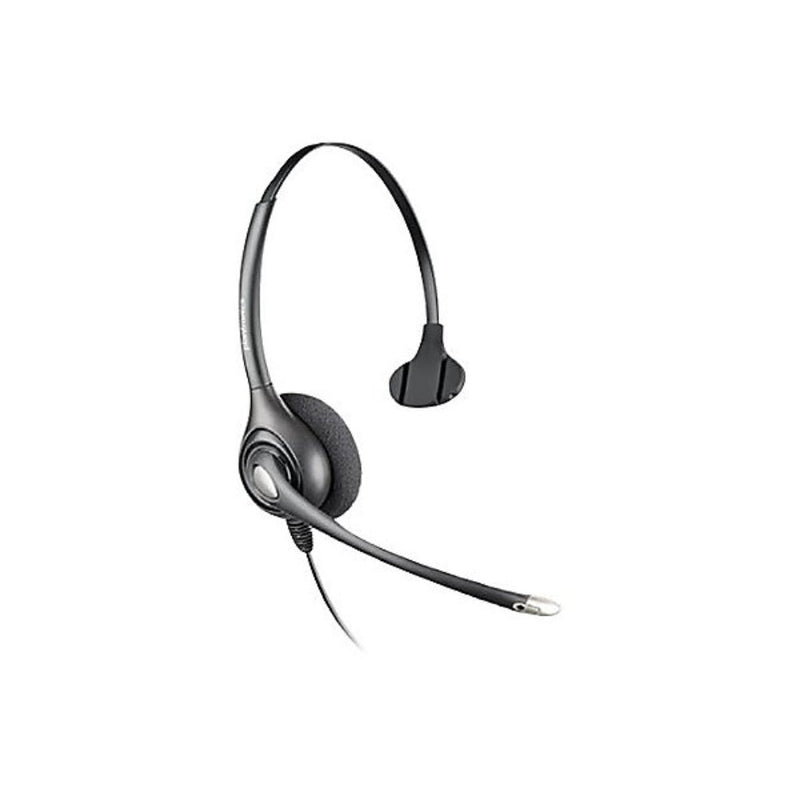 Plantronics H251N-CD Over-The-Head, Ear Muff Receiver - Mono - Quick Disconnect - Wired - Over-the-head - Monaural - Supra-aural - Noise Cancelling MicrophoneTAA Compliant MONAURAL HS WITH CONTROL/DISPATCH
