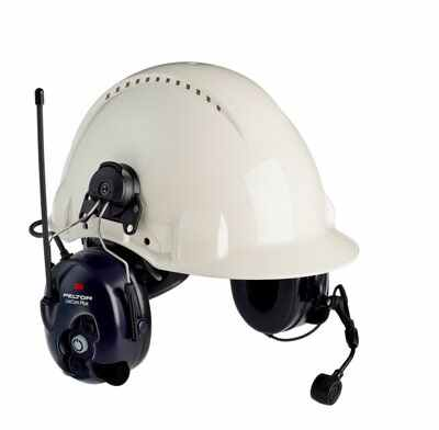 3M PELTOR LiteCom FRS Headset MT53H7P3E4602-NA, Hard Hat Attached - First Source Wireless