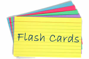 Flash Cards - Homeopathic